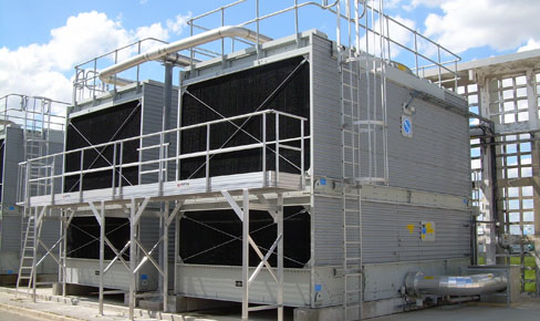 MASS Rooftop Cooling Tower Installation/Repair & Cooling Tower Refurbishment in Massachusetts