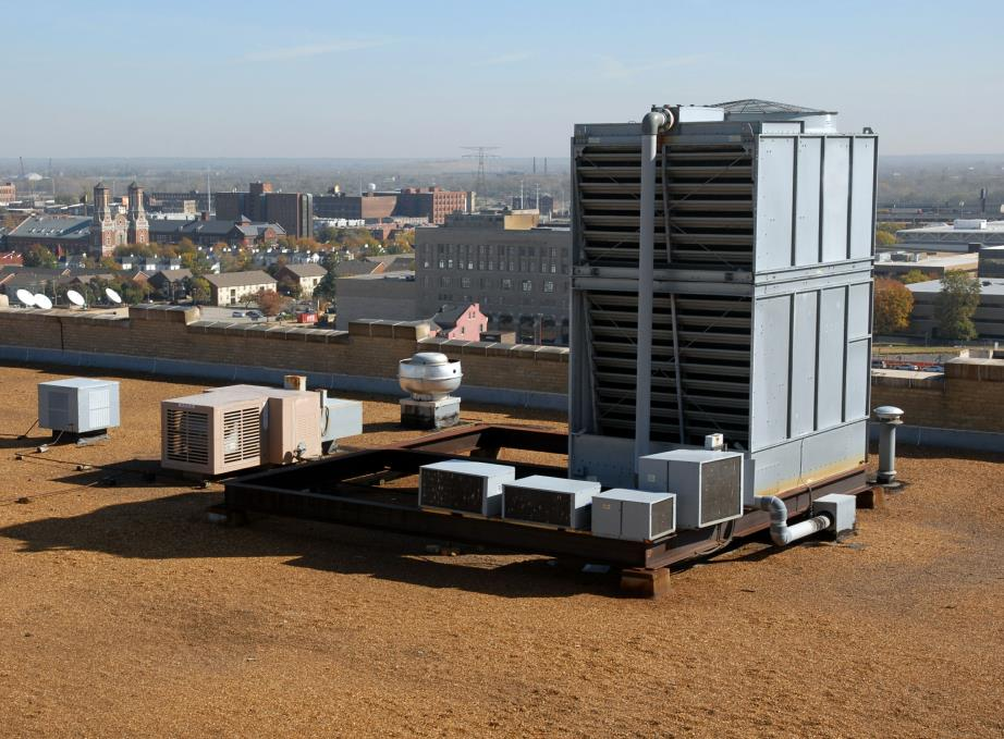 Rooftop HVAC/R Cooling Tower Installation & Repair in Boston, Massachusetts