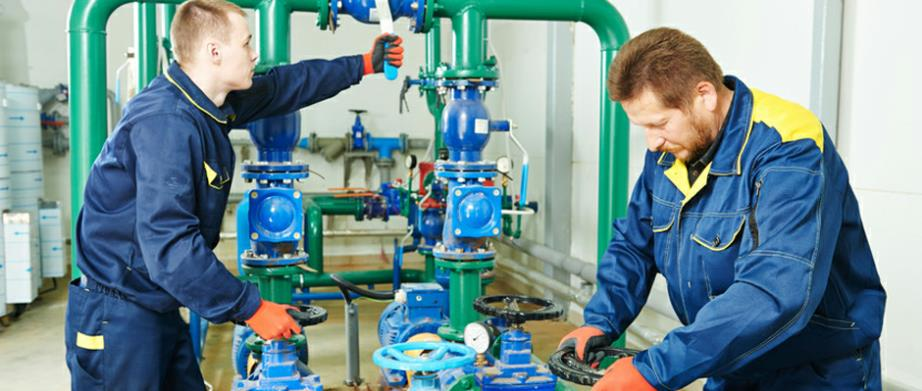 Commercial/Industrial Plumbers specialzing in large scale plumbing/HVAC system installation, repair and maintenance.