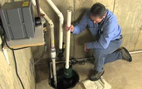 Battery Back-up Sump Pump Installation and Repair in Massachusetts.