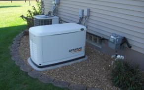 Gas Powered Electrical Generators in Webster, Massachusetts with high voltage and wattage up to 150,000 Watts.